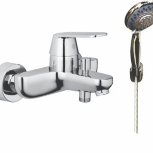 Naples Bath Mixer + H/Shower